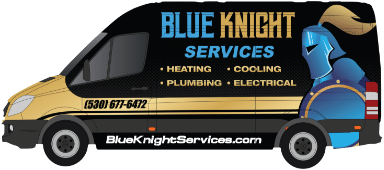 Blue Knight Service Van