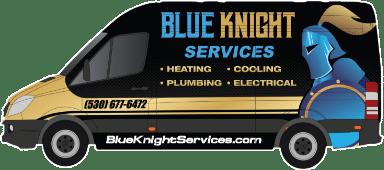 Blue Knight Service service Van 1